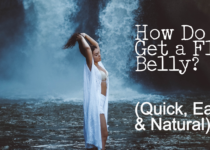 How do get a flat belly the natural way...